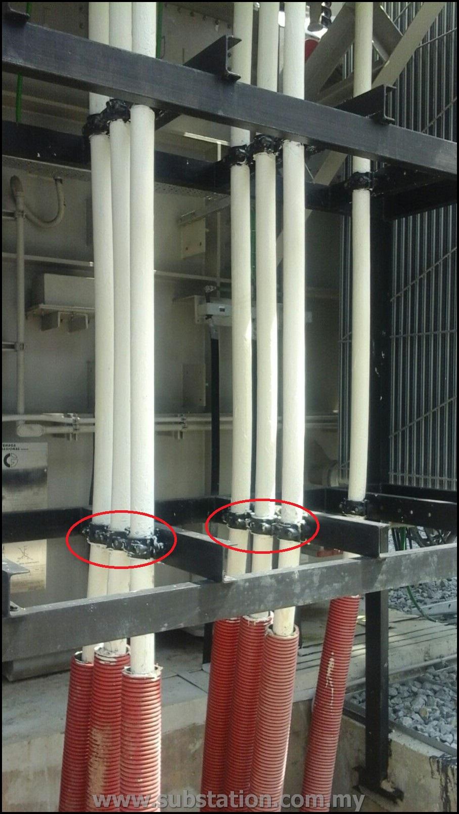PMU enstek 132kV substation (2)