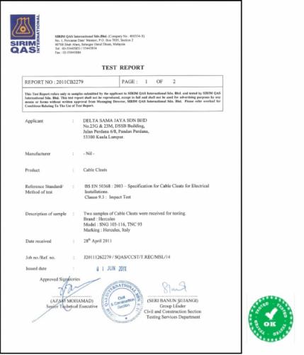 Trefoil Certificate